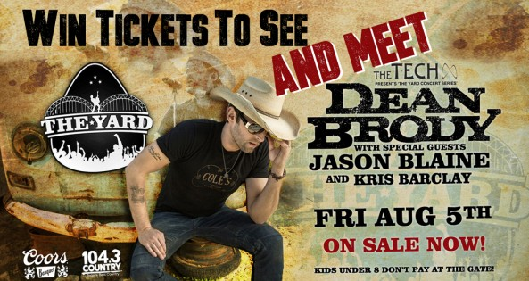 dean brody meet graphic